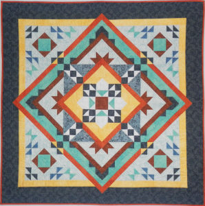 Diamonds and Rust Quilt