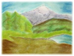 Mt. Monadnock Pastel